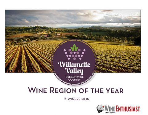 Willamette Valley Named Wine Region of 2016