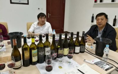 Natalie's Wine tasted at Château Rongzi in China