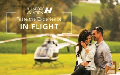 Natalie's Estate Selected as a Featured Winery for Hillsboro Aviation Wine Tours